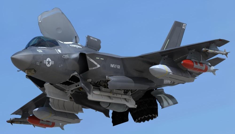 USMC-F-35-B-Lightning-II-Operational-Model-pilot-3d-model-e1430047227861